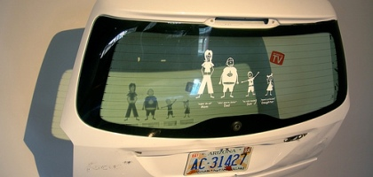 Stick Family Decals